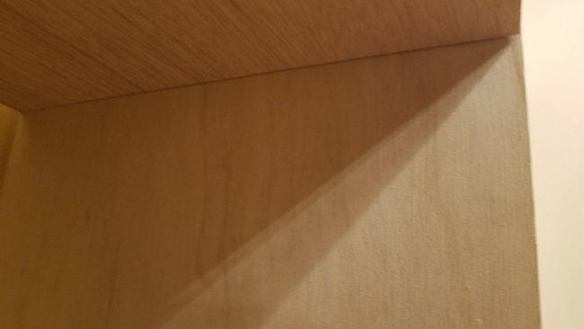 棚板のビス留め方法