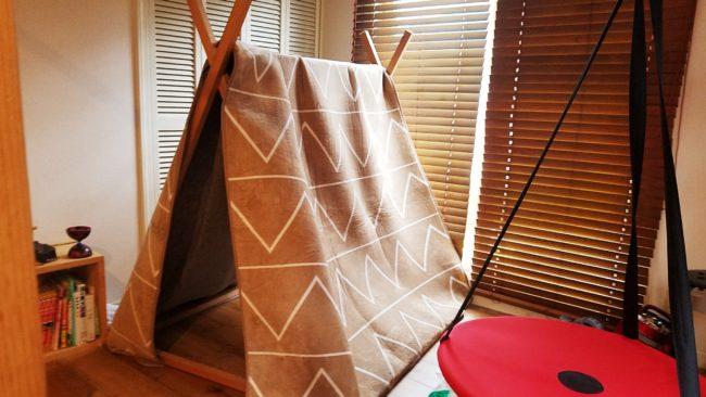 DIYテントを作ってみた