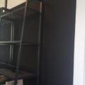 IKEAのレールベリで白黒のお部屋にDIY