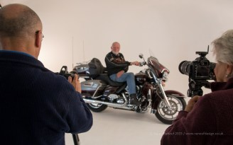 ISO800, F5, 1/20sec - Working in a studio with other photographers.