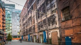 Old warehouses and art galleries on the South Bank