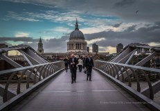 Just an average walk accross the Millenium Bridge