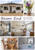 An A format poster of the Beam End Photoshoot and facilities ... ideal for a postcard or similar to be used to confirm bookings or for guests to share their holiday experience with friends.