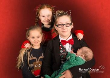 Family portraits for Christmas