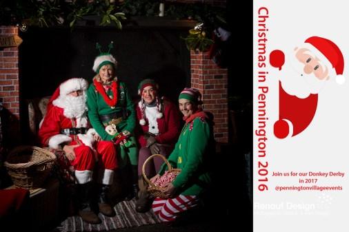 Santa Grotto Photo shoot