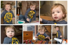 Playing at home - growing toddler