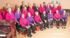 Members of a local choir