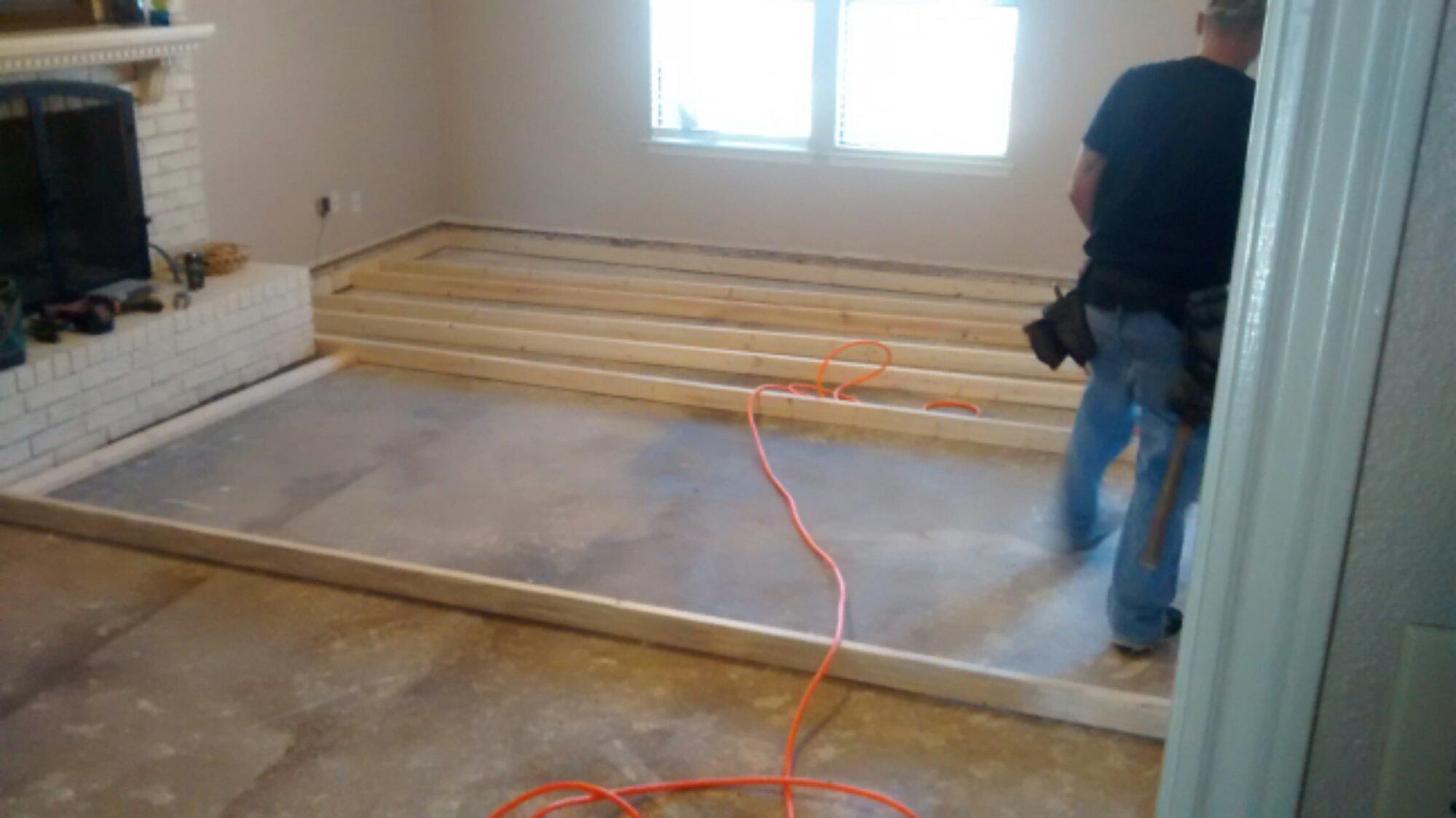 laminate flooring sunken living room black accessories renov8z image
