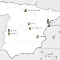 Estados operativos de las centrales nucleares españolas