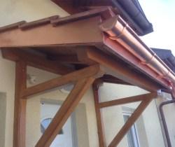 Avant-toit ferblanterie n°2