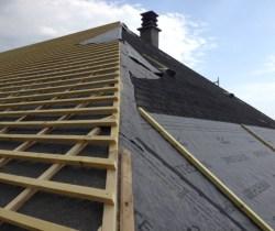 Rénovation d'une toiture n°2