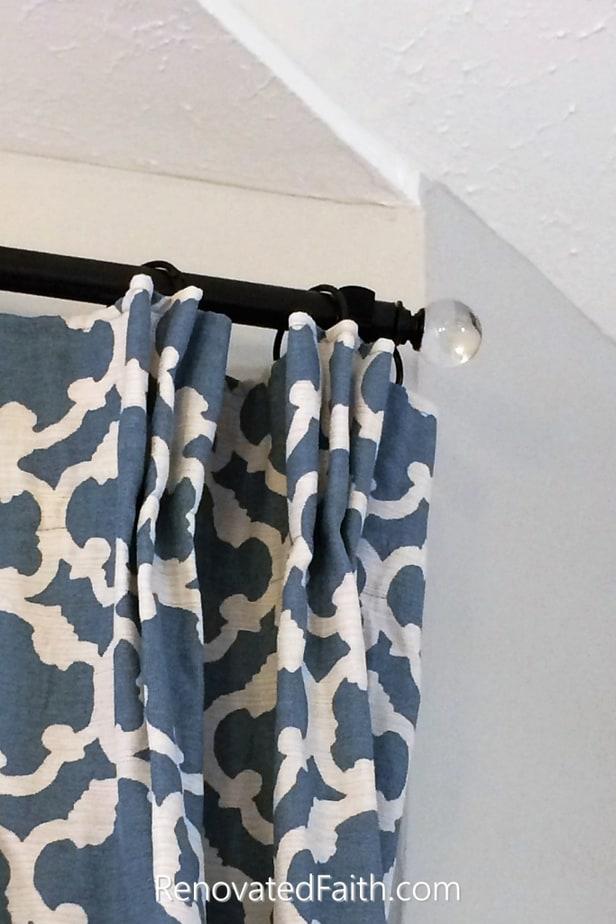 diy custom curtain rods make curtain