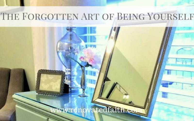 The Forgotten Art of Being Yourself