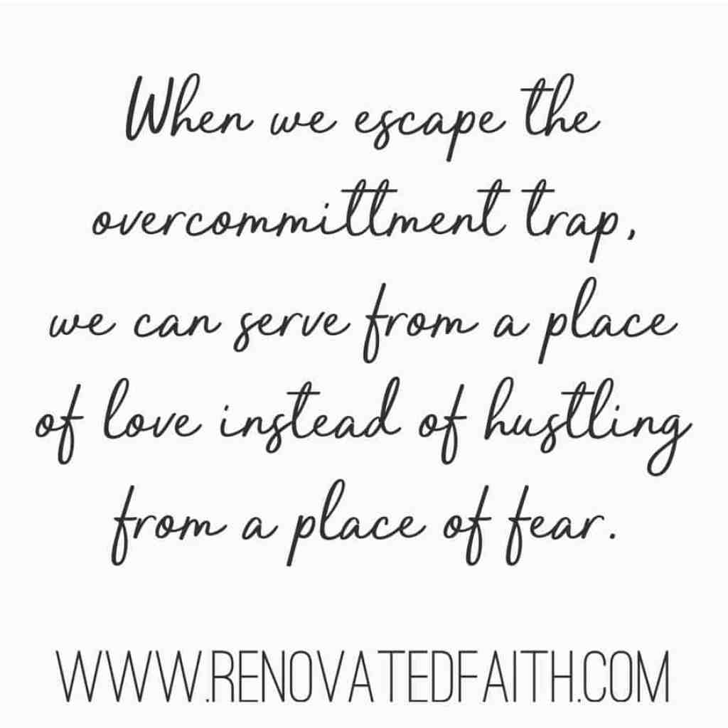 How To Escape The Overcommittment Trap #overshelmed #toobusy #proverbs31woman