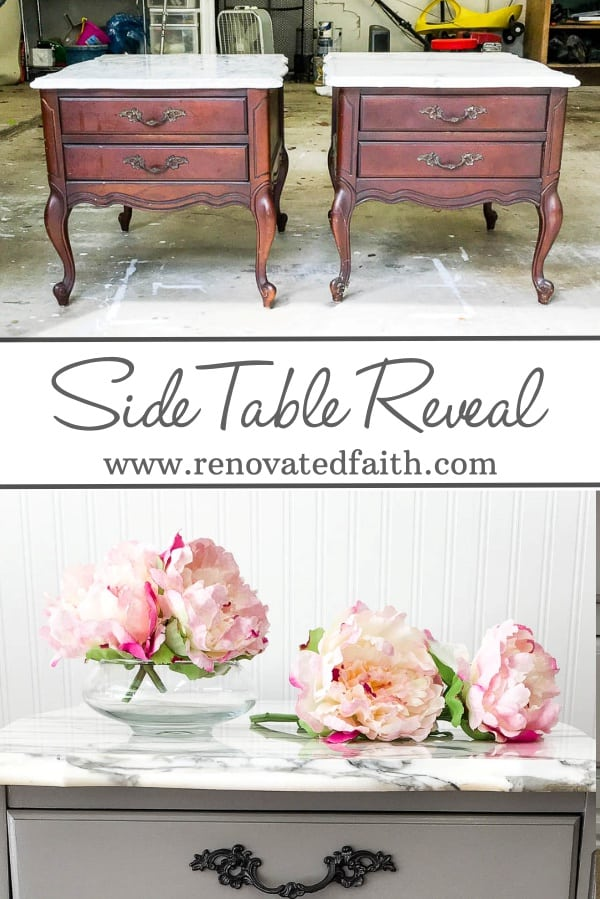 refinished marble tables