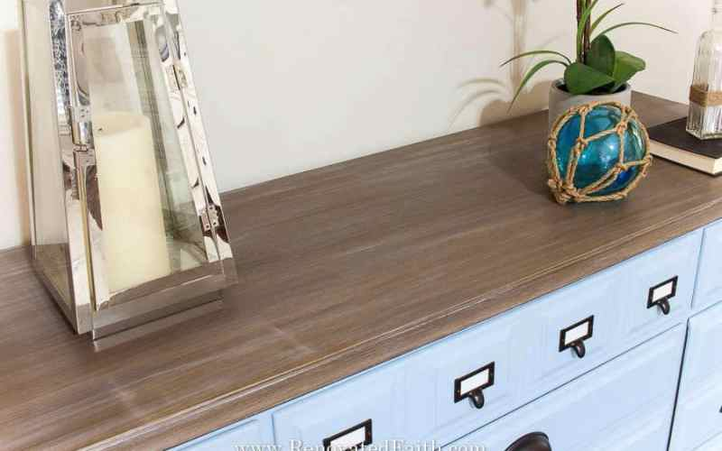 Three Easy Steps to a DIY Driftwood Finish on Any Surface