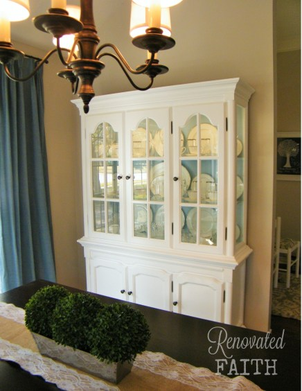china cabinet boxwood