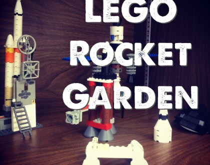 Build of the Week: LEGO Rocket Garden