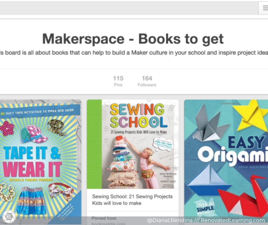 makerspace pinterest board