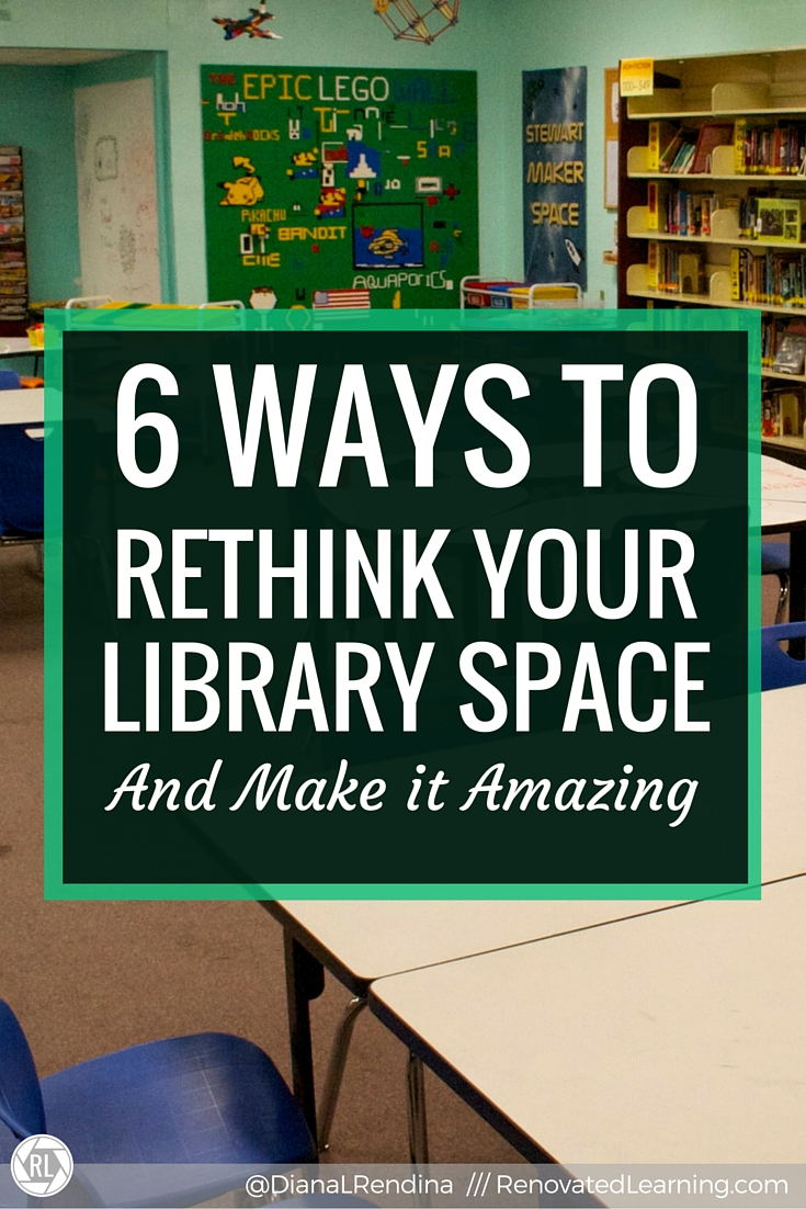 Modern High School Classroom Design ~ Ways to rethink your library space and make it amazing