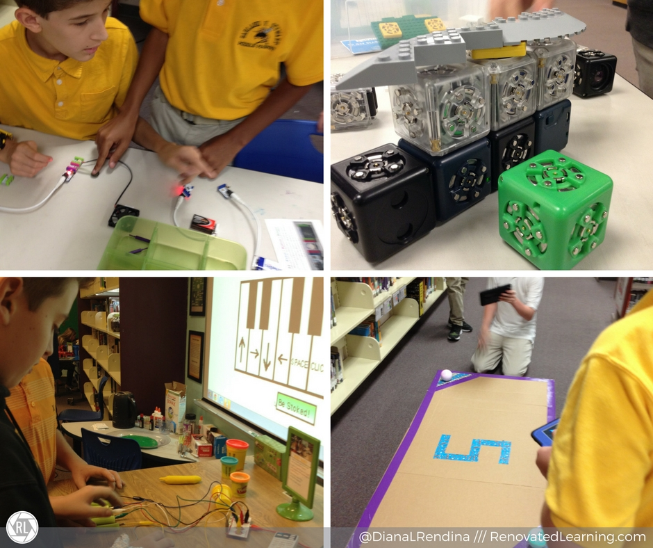 Interactive Maker Stations