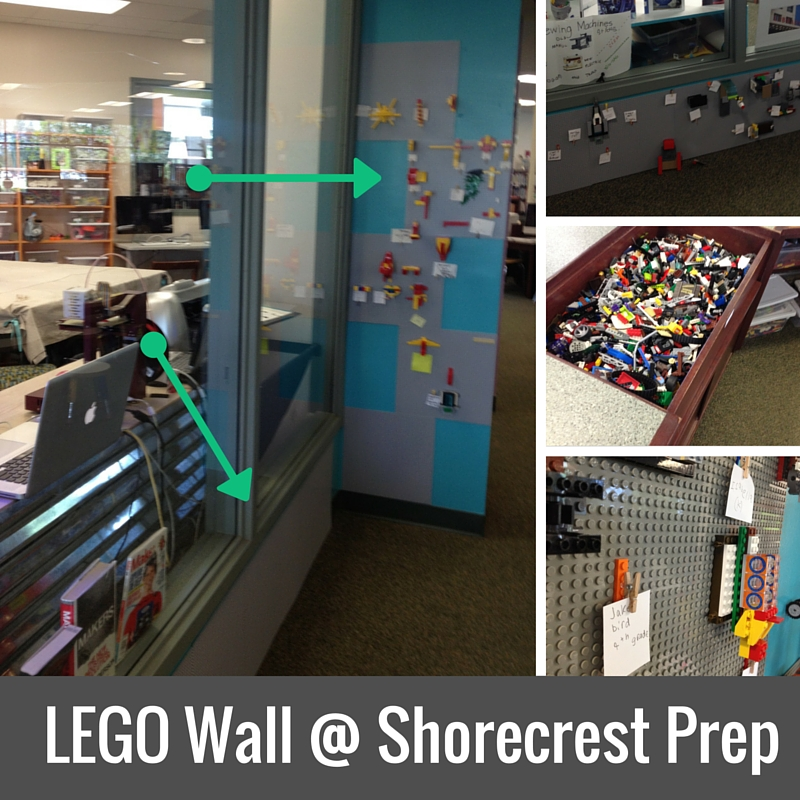 LEGO Wall @ Shorecrest Prep