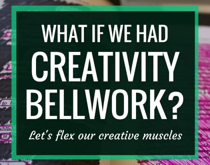 What if we had CREATIVITY BELLWORK? | What if, instead of forcing students through dull worksheets everyday, we created bellwork that allows them to flex their creativity?