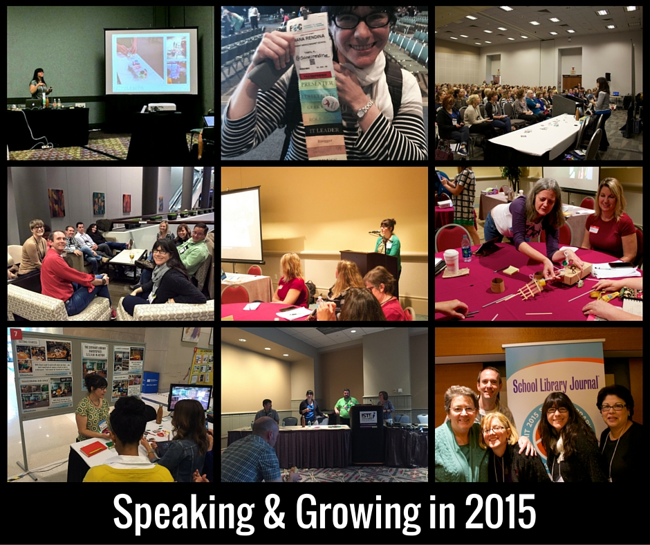 Speaking & Growing in 2015
