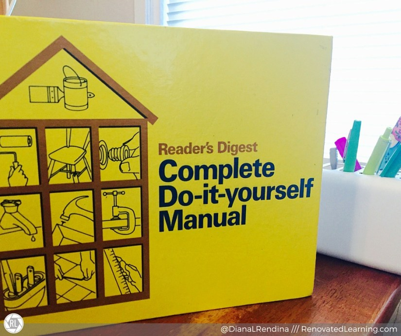 The Complete Do-it-yourself manual | I still say the 1973 version is the best :) | RenovatedLearning.com