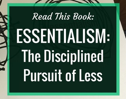 Read This Book: Essentialism