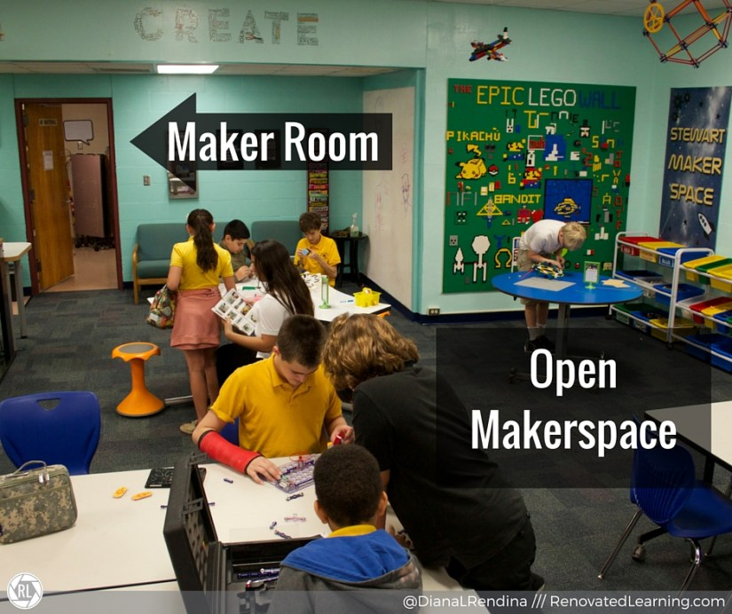 The Maker Room and the Open Makerspace | RenovatedLearning.com