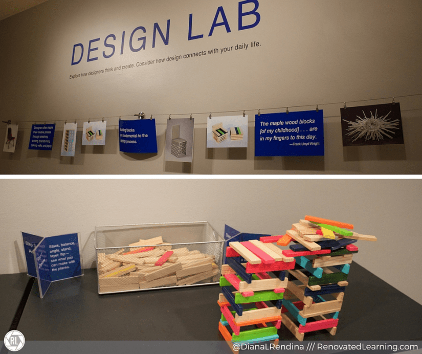 Mini makerspace in Denver Art Museum