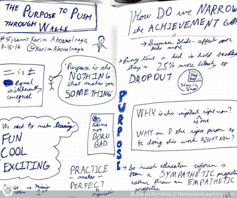 My Sketchnotes from the opening keynote