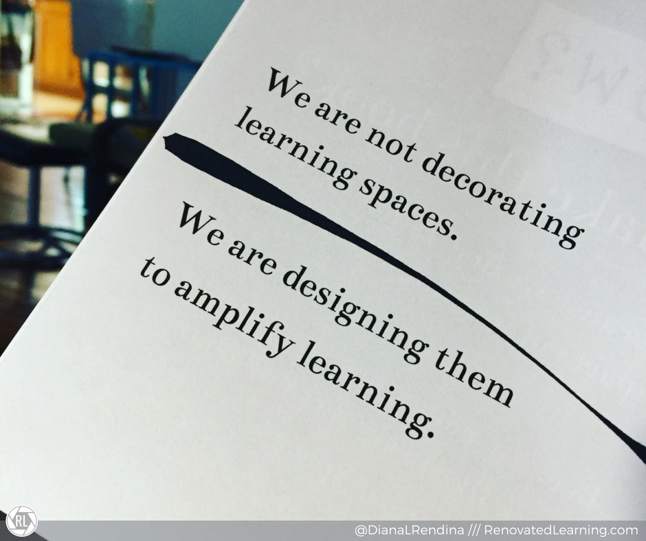 We are designing to amplify learning