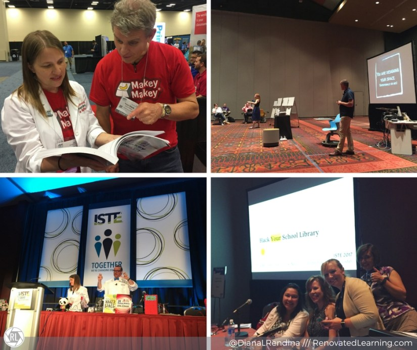 Awesome people and sessions at ISTE