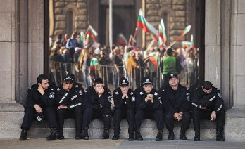 #ДАНСwithme The Bulgarian police have had little to do