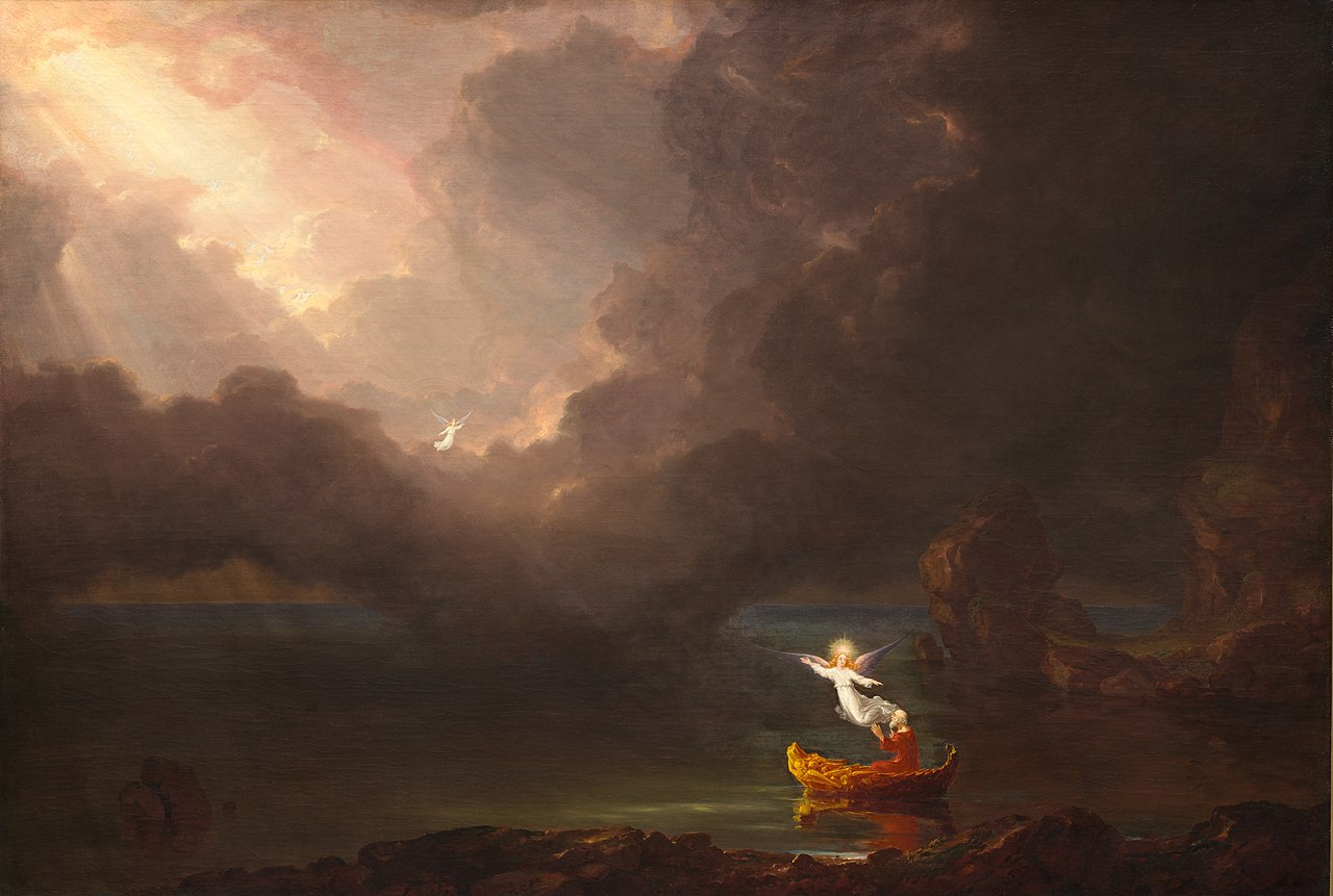 Thomas Cole – The Voyage of Life – Old Age