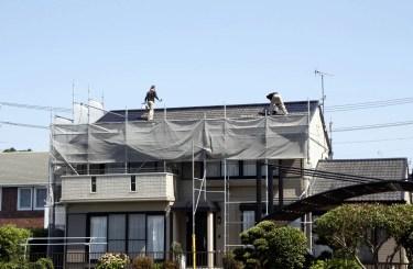 【屋根塗装の相場】平米・坪数別の目安