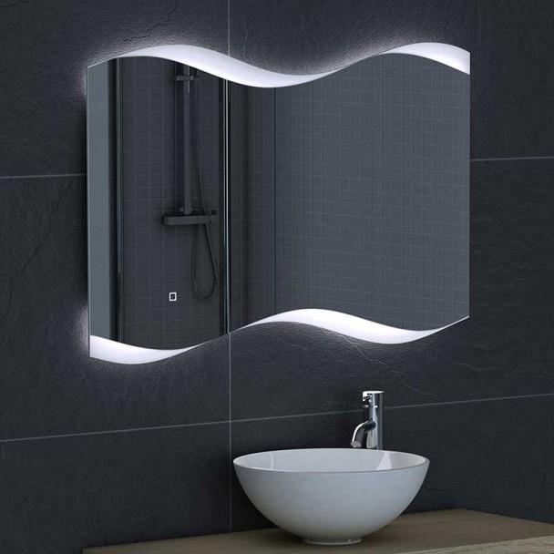 Miroir LED retroeclaire