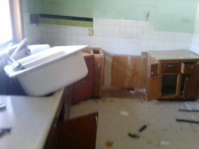 Goodbye kitchen!