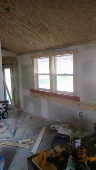 trim around windows