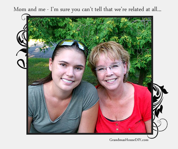 Mom and I might not be smiling so much this summer after the renovation begins. Grandmashousediy.com