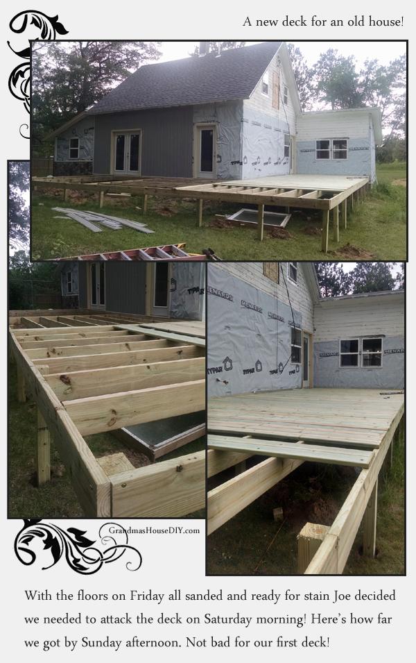 build a deck diy