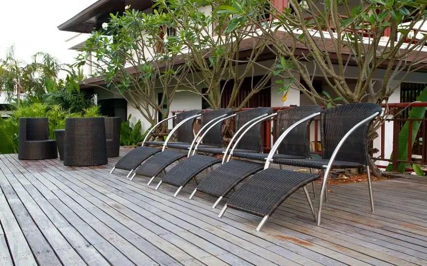 prix d une terrasse en bois cout au m2