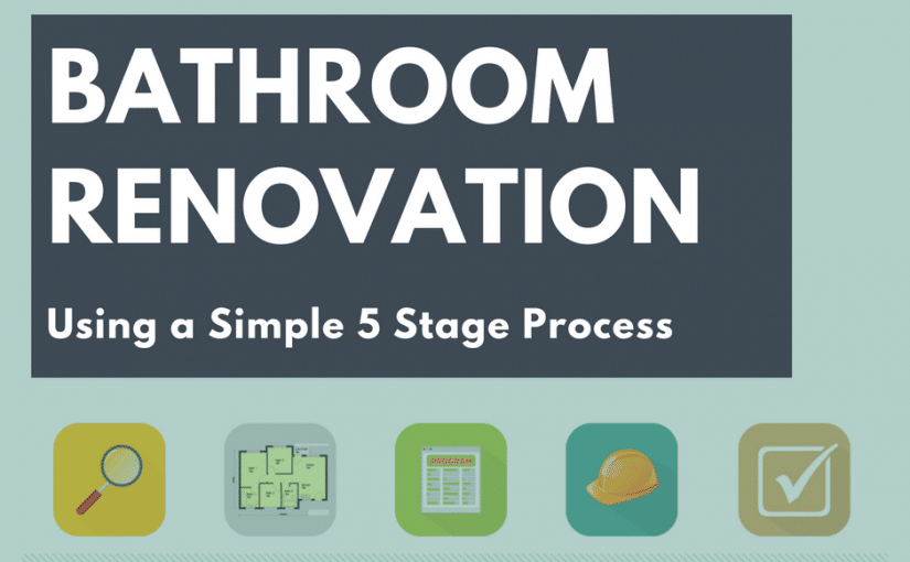 How to Renovate a Bathroom 5 Stage Process  Renovation
