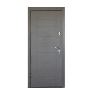 Входная дверь мдф влажность ПБ-206 вeнгe ceрый