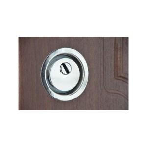 Входные арочные двери мдф ПО-01 орех коньячный