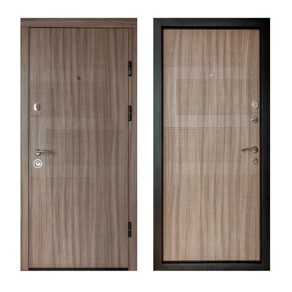 Комплектация входных дверей мдф ПК-18+ лиственница светлая