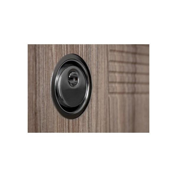Ламинированная или мдф входная дверь ПК-18+ лиственница светлая