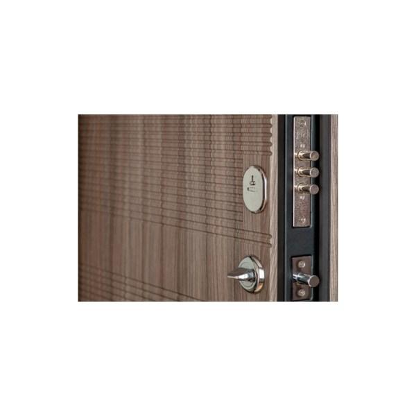 Лучшие с мдф входные двери ПК-18+ лиственница светлая